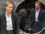 Sean Penn and Charlize Theron pictured for the first time since their recent split. They looked strained as they filmed the final scenes of The Last Face in Cape Town, South Africa.\nNoble Draper Pictures.\n**BYLINE: NOBLE/DRAPER**