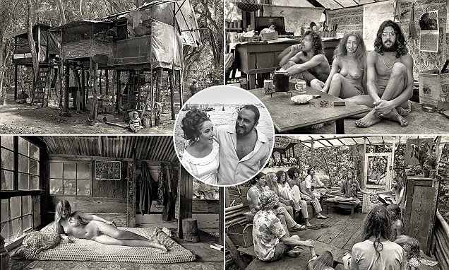 Photos of the commune started by Elizabeth Taylor's brother