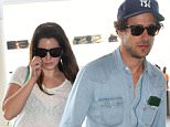 """Picture Shows: Lana Del Rey  July 30, 2015    Singer Lana Del Rey departing on a flight at Lax airport in Los Angeles, California. Actor James Franco recently co-wrote a book about Lana entitled """"Flip-Side: Real and Imaginary Conversations With Lana Del Rey.""""     Non-Exclusive  UK RIGHTS ONLY    Pictures by : FameFlynet UK © 2015  Tel : +44 (0)20 3551 5049  Email : info@fameflynet.uk.com"""