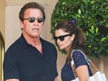 Beverly Hills, CA - Arnold Schwarzenegger celebrated his 68th birthday today with ex wife Maria Shriver and their two daughters Katherine and Christina at the Montage Hotel in the 90210 zip code. The former California Governor drove off on his cool looking silver Bugatti with one of his daughters while Maria rode with the other kid. AKM-GSI          June 30, 2015 To License These Photos, Please Contact : Steve Ginsburg (310) 505-8447 (323) 423-9397 steve@akmgsi.com sales@akmgsi.com or Maria Buda (917) 242-1505 mbuda@akmgsi.com ginsburgspalyinc@gmail.com