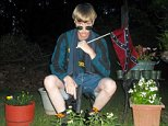 "A website that appears to have been created by Dylann Roof was found on Saturday morning. The ""Last Rhodesian"" website was registered in February 2015. (Roof wore a Rhodesian flag in a photo taken before his alleged attack on a Charleston black church.) Photos of Roof hosted on the website were taken this spring, according to metadata. The writer of the text says he was ""not raised in a racist environment,"" and that the shooting of Trayvon Martin led him to investigate what he called ""black on white crime"" through the webpage of local hate group Council of Conservative Citizens. ""I have no choice. I am not in the position to, alone, go into the ghetto and fight. I chose Charleston because it is most historic city in my state, and at one time had the highest ratio of blacks to Whites in the country,"" the author writes. ""We have no skinheads, no real KKK, no one doing anything but talking on the internet. Well someone has to have the bravery to take it to the real world, and I guess tha"
