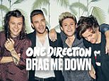 Cover art for One Direction - Drag Me Down