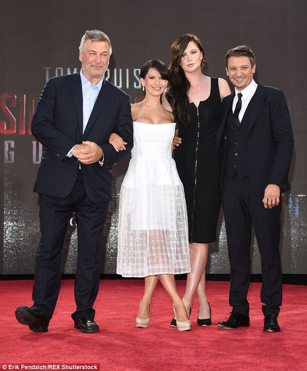 Primped and proper: The couple last appeared at the red carpet premiere for Tom Cruise's latest Mission Impossible: Rogue Nation on Monday