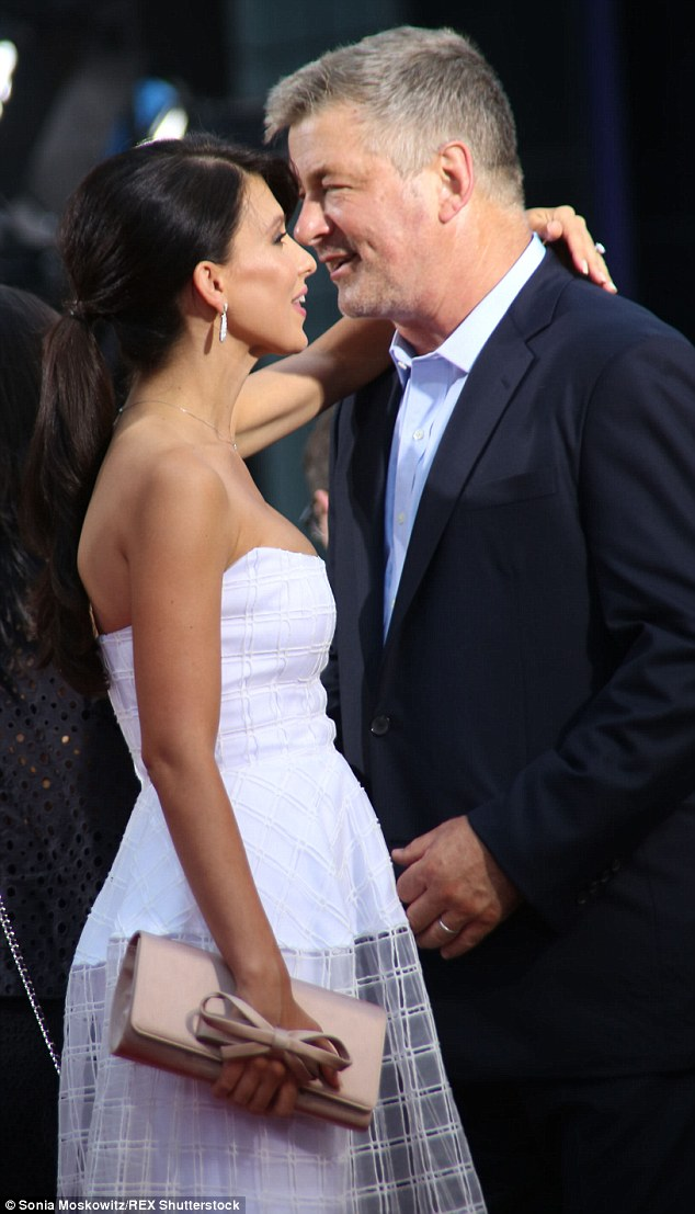 Sweet love: The yoga instructor and her actor beau couldn't keep their hands or eyes off eachother during their time on the red carpet