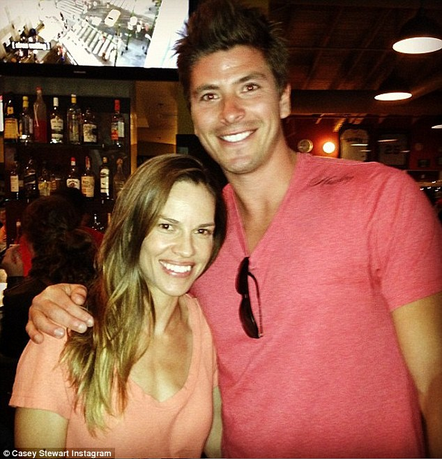 Long-time friends: Back when he was on The Bachelorette in 2013, Kasey posted a photo after he met Hilary