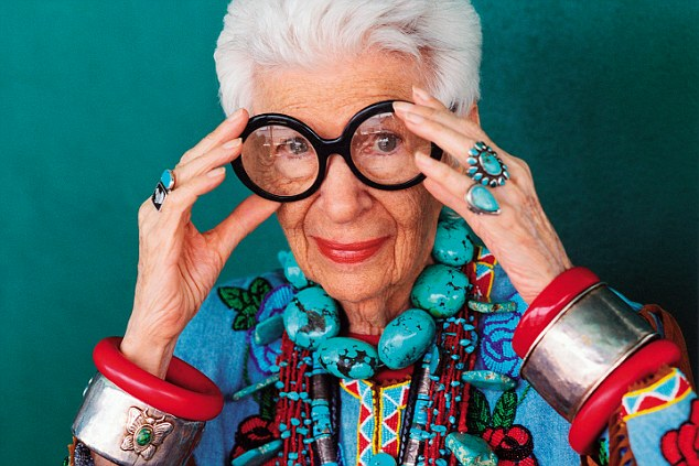 A documentary of Iris Apfel's life was made by American's great documentary maker, Albert Maysles, shortly before his death