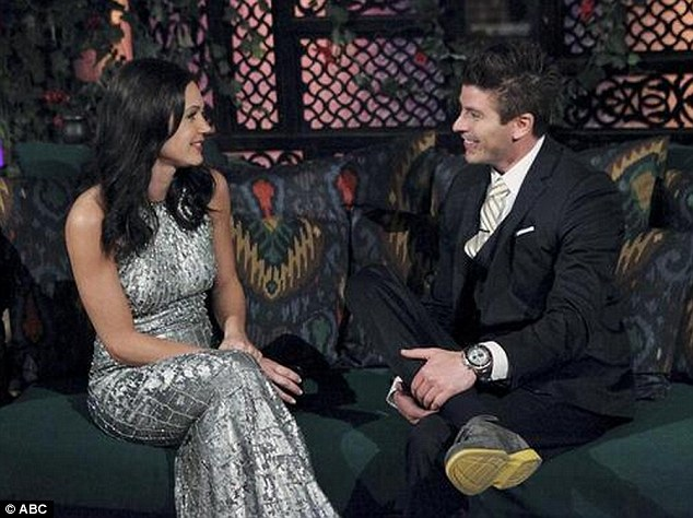 Rejected: Desiree Hartsock (left) sent Kasey home in week six of The Bachelorette season nine, despite early chemistry between the two