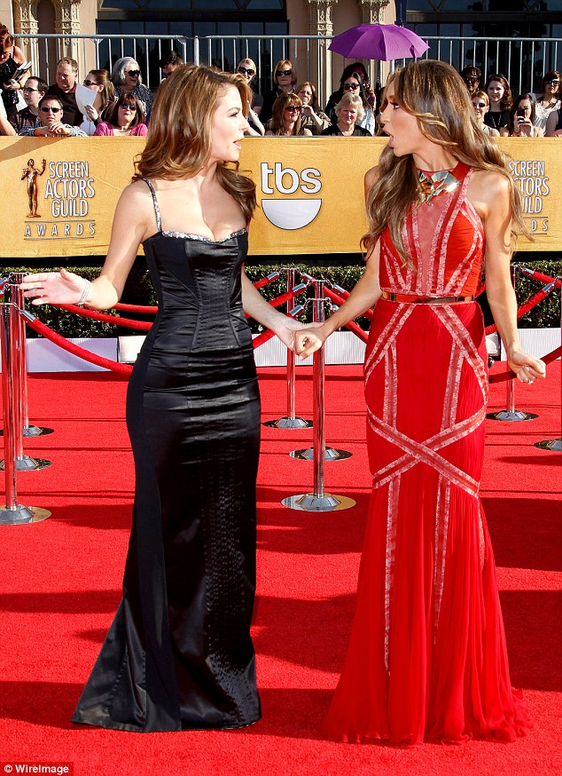 Friction? It has been reported that Maria has not gotten along famously with Giuliana - here the pair are pictured in 2012 at the Screen Actors Guild Awards