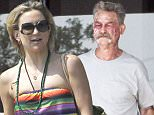 140731, EXCLUSIVE: A bloodied and scarred Mark Wahlberg and Kurt Russell are joined by a colorful Kate Hudson on the set of Deepwater Horizon filming in New Orleans. Kate Hudson and Mark Wahlberg are husband and wife while Kurt plays a coworker of Mark on the Deepwater Horizon oil rig. New Orleans, Louisiana -  Thursday, July 30, 2015. Photograph: © PacificCoastNews. Los Angeles Office: +1 310.822.0419 sales@pacificcoastnews.com FEE MUST BE AGREED PRIOR TO USAGE