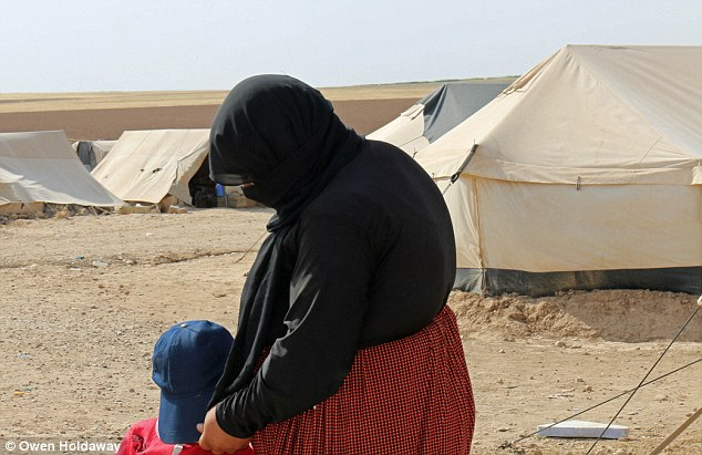 Begging: Bohar pleaded with one of the men who owned them during their ordeal to reunite them with the rest of the family, but he refused to do so. She has not seen her children for many months