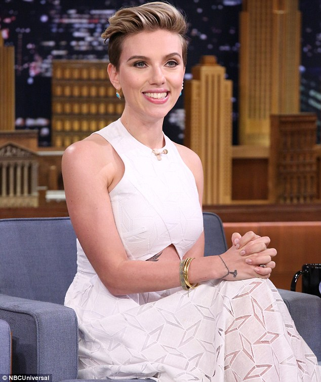New gigs: Coming up, the actress will be starring in the Coen brothers' Hail, Caesar!; the actress is seen here on Jimmy Fallon in April