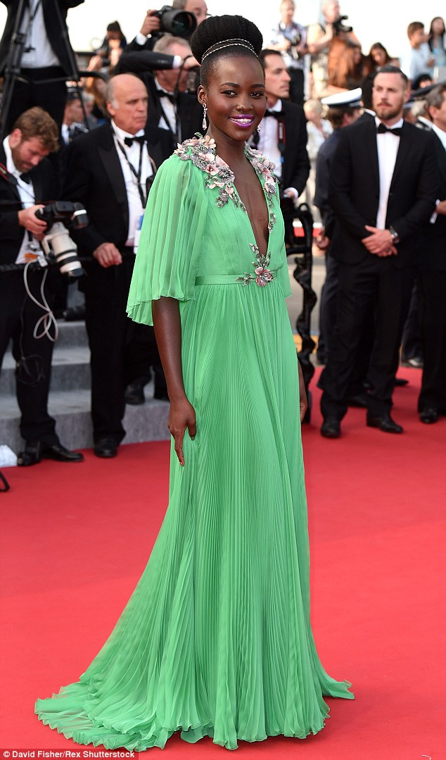 Next up: In addition to the play - opening in September - Lupita (above in Cannes in May) will appear in Star Wars: The Force Awakens