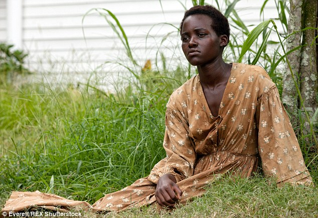 Rising star: For her first feature film role in 12 Years A Slave, Lupita won the Academy Award for Best Supporting Actress
