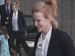 30 July 2015.\nNicole Kidman and her daughters seen arriving at London Heathrow Airport this evening after a two hour flight delay.\nCredit: Ben Eade/GoffPhotos.com   Ref: KGC-102\n