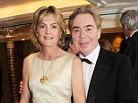 LONDON, ENGLAND - NOVEMBER 13:  (EMBARGOED FOR PUBLICATION IN UK TABLOID NEWSPAPERS UNTIL 48 HOURS AFTER CREATE DATE AND TIME. MANDATORY CREDIT PHOTO BY DAVE M. BENETT/GETTY IMAGES REQUIRED)  Lady Madeleine Lloyd Webber (L) and Lord Andrew Lloyd Webber attend the Cartier Racing Awards 2012 at The Dorchester on November 13, 2012 in London, England.  (Photo by Dave M. Benett/Getty Images)