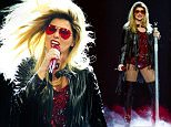 NASHVILLE, TN - JULY 31:  Singer-songwriter Shania Twain performs during the Rock This Country tour at Bridgestone Arena on July 31, 2015 in Nashville, Tennessee.  (Photo by Terry Wyatt/Getty Images)