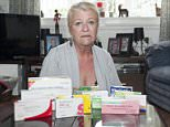 Lillian Foote (with the medication she now has to take), who is still suffering from food posioning 3 years after her holiday from hell in Egypt. Lillian, 62, was struck down with a severe stomach illness after eating food served up by staff at a five star hotel just three days into her family holiday with her husband and grand-daughter. Up to 15 other holidaymakers were taken ill during their luxury getaway at the Hauza Beach Resort, Nabq Bay in Sharm El Sheik. Although the trip took place as long ago as September 2012, Mrs Foote, from Warrington, Cheshire, still has stomach issues and other severe abdominal pains today and has been warned by doctors she will suffer ''ongoing'' gastero-enteritis for the forseeable future.