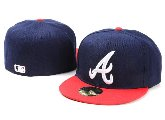 Atlanta Braves New Era Fitted Hatte 005