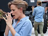 EXCLUSIVE TO INF.\nJuly 31, 2015: Jennifer Garner is seen having what looks like an intense phone conversation during a break from filming her movie 'Miracles From Heaven' in Atlanta, Georgia, amidst reports that estranged husband Ben Affleck had an affair with the couple's nanny, who has since been fired. Garner is seen wearing a wedding band. \nMandatory Credit: INFphoto.com Ref: infusmi-11/13