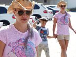 Pictured: Britney Spears, Jayden James Federline, Sean Federline\nMandatory Credit © Milton Ventura/Broadimage\nBritney Spears out for lunch with her kids  at Brent's Deli Delicatessen and Restaurant in Westlake Village\n\n7/31/15, Westlake Village, California, United States of America\n\nBroadimage Newswire\nLos Angeles 1+  (310) 301-1027\nNew York      1+  (646) 827-9134\nsales@broadimage.com\nhttp://www.broadimage.com\n