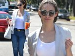 Picture Shows: Emmy Rossum  July 31, 2015\n \n Actress Emmy Rossum is spotted out for lunch at Lemonade in Studio City, California. Emmy has been enjoying her summer by traveling as much as she can before filming starts again on 'Shameless'. \n \n Non-Exclusive\n UK RIGHTS ONLY\n \n Pictures by : FameFlynet UK © 2015\n Tel : +44 (0)20 3551 5049\n Email : info@fameflynet.uk.com
