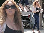 140777, Mariah Carey looks relaxed and rejuvenated as she steps out in Los Angeles with her son Moroccan Cannon. Los Angeles, California - August 1, 2015. Photograph: KVS/Pedro Andrade, © PacificCoastNews. Los Angeles Office: +1 310.822.0419 sales@pacificcoastnews.com FEE MUST BE AGREED PRIOR TO USAGE