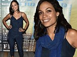BRIDGEHAMPTON, NY - AUGUST 01:  Actress Rosario Dawson attends the Women's Health's 4th annual party under the stars for RUN10 FEED10 on August 1, 2015 in Bridgehampton, New York.  (Photo by Bryan Bedder/Getty Images for Women's Health)