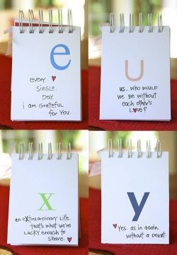 DIY A-Z I love You