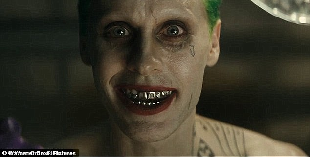 Big clown shoes to fill: Jared is taking over the role of The Joker from Oscar-winning Heath Ledger