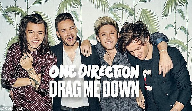 Wow! Harry Styles, Liam Payne, Niall Horan, and Louis Tomlinson released the single Drag Me Down on Friday