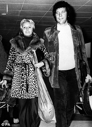 Superstar singer Sir Tom Jones with his wife Linda