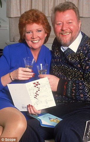 Cilla Black and her husband Bobby Willis, who died in 1999