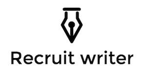 Recruit English writer