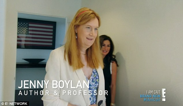 Mentor: Jenny Boylan, a Barnard University professor and co-chair of GLAAD, has become one of Caitlyn's role models as she continues to make the transition from Bruce