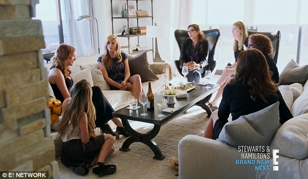 Inner circle: Caitlyn hosted her first girls' night with a group of trans women at her home in Malibu
