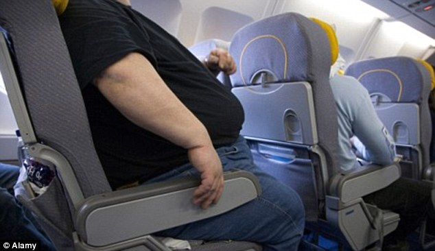 Viral: As rage letters go, they don't come much more furious than the epistle sent to an Australian airline by a passenger seated next to a man as big as 'an infant hippopotamus' (file photo)