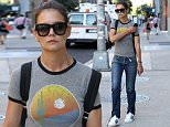 Actress Katie Holmes heads to her production office for 'All We Had' in Chelsea in New York City on August 3, 2015. Katie has just cast Stefania Owen, from 'The Carrie Diaries,' as the daughter of the main character in the movie. 'All We Had' will be Katie's directorial debut.\n\nPictured: Katie Holmes\nRef: SPL1093436  030815  \nPicture by: Christopher Peterson/Splash News\n\nSplash News and Pictures\nLos Angeles: 310-821-2666\nNew York: 212-619-2666\nLondon: 870-934-2666\nphotodesk@splashnews.com\n