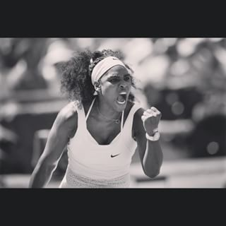 Congrats Serena!!!! Grand Slams in tennis should now be renamed 'Serena Slams'. Beast mode!
