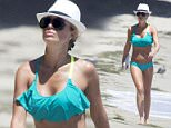 EXCLUSIVE: Alex Gerrard spends some time at the beach in Malibu