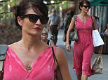 Mandatory Credit: Photo by Startraks Photo/REX Shutterstock (4917712c)\n Helena Christensen\n Helena Christensen out and about, New York, America - 31 Jul 2015\n Helena Christensen Shopping in the West Village\n