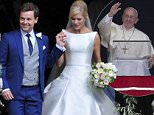 Picture Shows: Declan Donnelly, Ali Astall  August 01, 2015: August 01, 2015\n \n 'Britain's Got Talent' host Declan Donnelly leaves the St Michael's Church with his new bride Ali Astall in Newcastle, UK.\n \n The couple tied the knot in the Geordie's home city where the wedding service is to be conducted by his brother and 'BGT' co-host Ant McPartlin is expected to be best man.\n \n Non Exclusive\n WORLDWIDE RIGHTS\n \n Pictures by : FameFlynet UK © 2015\n Tel : +44 (0)20 3551 5049\n Email : info@fameflynet.uk.com
