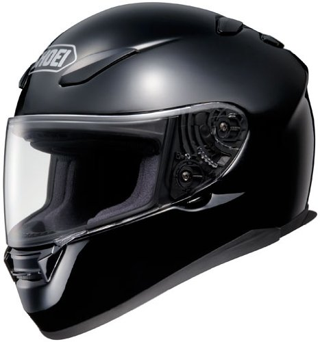 shoei rf1100 black xlg motorcycle helmet