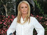 """LOS ANGELES, CA - JULY 22:  Actress Kim Richards arrives at the premiere of """"Sharknado 3: Oh Hell No!"""" at iPic Theaters on July 22, 2015 in Los Angeles, California.  (Photo by Gregg DeGuire/WireImage)"""