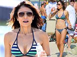 Bethenny Frankel and Lena Dunham show off their bikini bodies as they attend the 'Paddle For Pink' Charity event in the Hamptons, New York\n\nPictured: Bethenny Frankel and Lena Dunham\nRef: SPL1092572  010815  \nPicture by: Splash News\n\nSplash News and Pictures\nLos Angeles: 310-821-2666\nNew York: 212-619-2666\nLondon: 870-934-2666\nphotodesk@splashnews.com\n