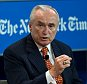NEW YORK, NY - JULY 21:  Police Commissioner for City of New York William J. Bratton speaks onstage during NY Times Cities For Tomorrow Conference on July 21, 2015 in New York City.  (Photo by Larry Busacca/Getty Images for New York Times)