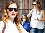 Picture Shows: Seraphina Affleck, Jennifer Garner  August 01, 2015\n \n 'Draft Day' star Jennifer Garner takes her daughter Seraphina to breakfast at Panera in Atlanta, Georgia.\n \n Though rumored to be livid over claims that her estranged husband Ben Affleck hooked up with the couple's nanny, she appeared to be wearing a simple silver wedding band...\n \n Non Exclusive\n UK RIGHTS ONLY\n \n Pictures by : FameFlynet UK © 2015\n Tel : +44 (0)20 3551 5049\n Email : info@fameflynet.uk.com