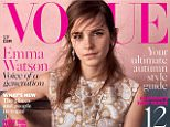 Emma Watson Vogue sept issue   MUST USE WHOLE COVER