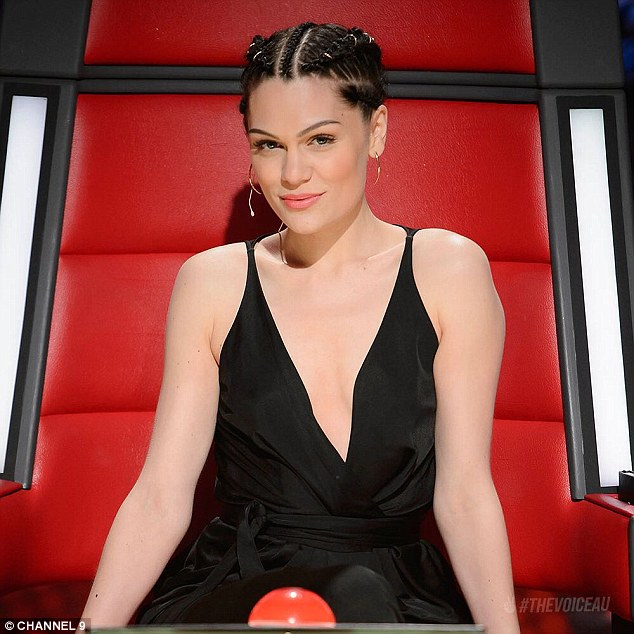 Fun with the fans: Jessie J has opened up about some of the fun experiences she has had with fans since arriving back in Australia last week