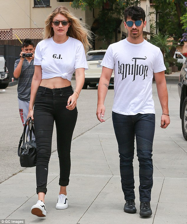 New romance: The Sports Illustrated model is now dating singer Joe Jonas
