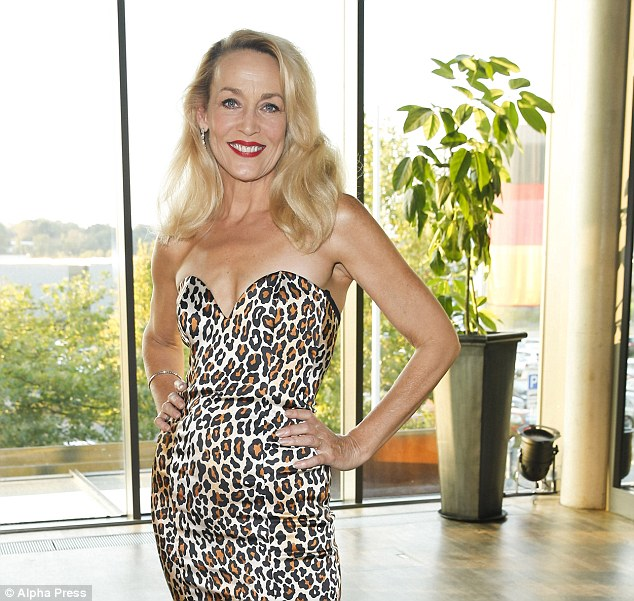 Revenge: Jerry Hall has admitted that her affair with horse breederRobert Sangster in 1982 was to punish Mick Jagger for cheating on her